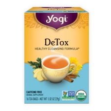 Yogi Tea DeTox (Healthy cleansing formula)