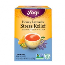Yogi Tea Stress Relief, Honey lavender